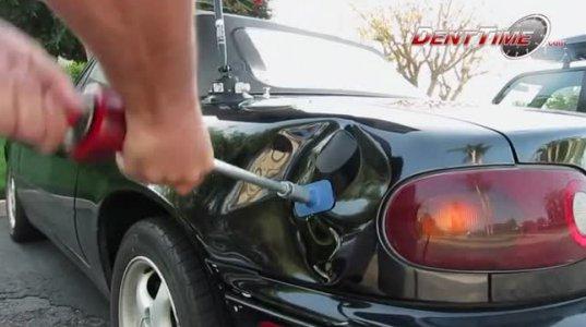როგორ გავაქროთ ავტომობილზე დაზიანება სწრაფად და მარტივად