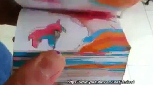 თქვენ არ დაგიხატიათ ბავშვობაში რვეულის კიდეზე ანიმაციური ფილმი?